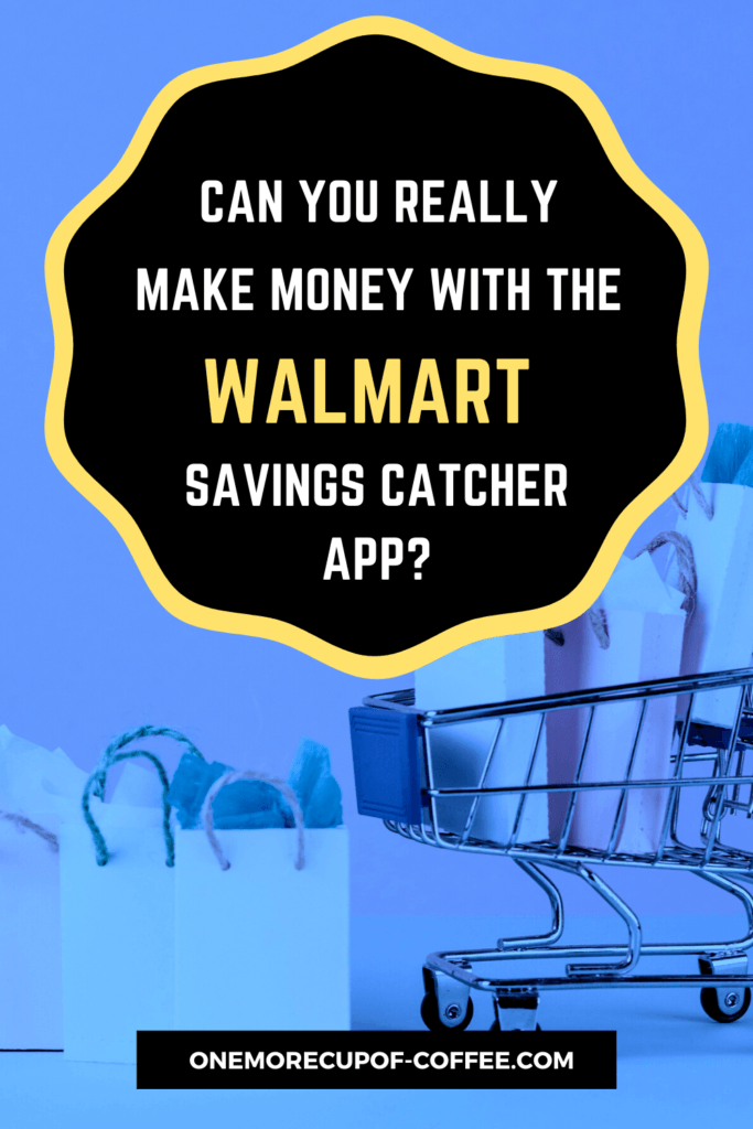 dark blue filter on shopping cart image with text