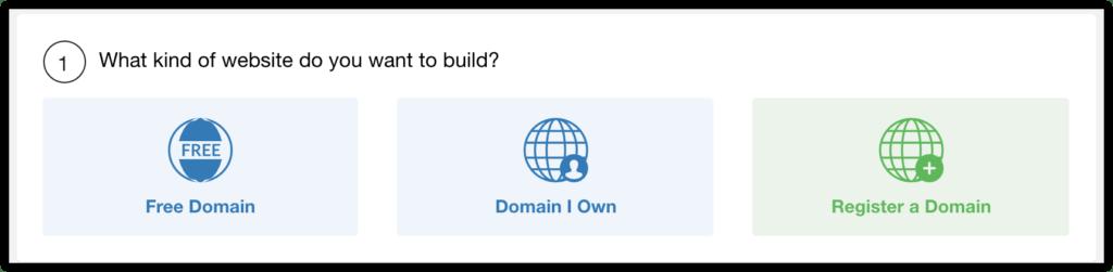 affiliate website builder step 1