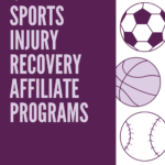 best sports injury recovery affiliate programs pinterest