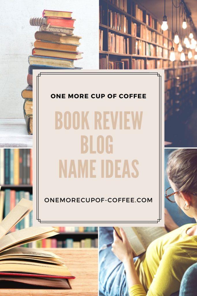 book review blog name ideas
