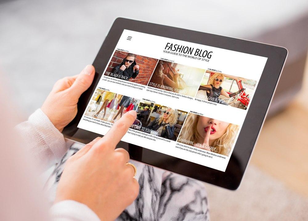 build a fashion blog