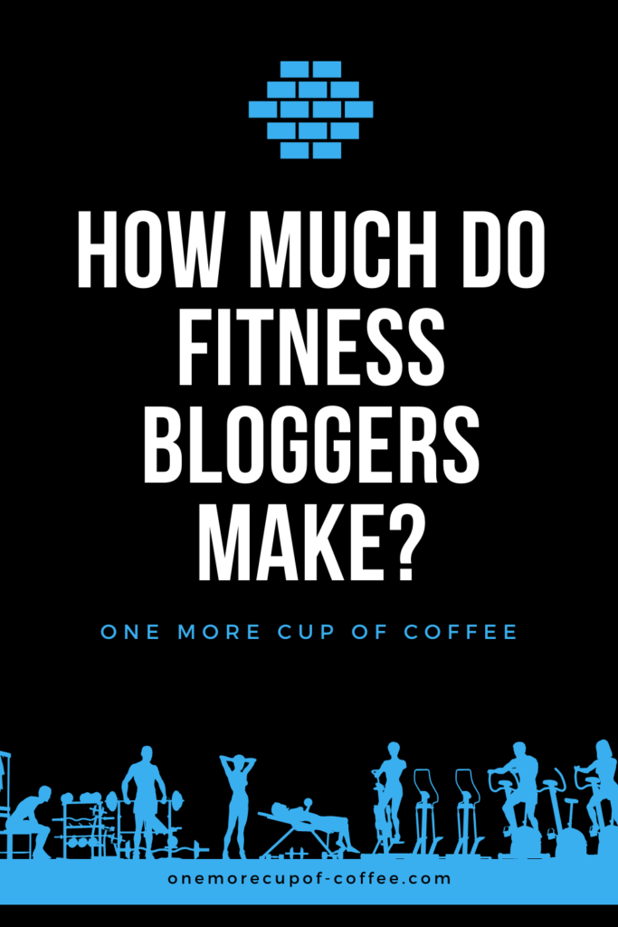 blue vector graphic of fitness experts at gym with text