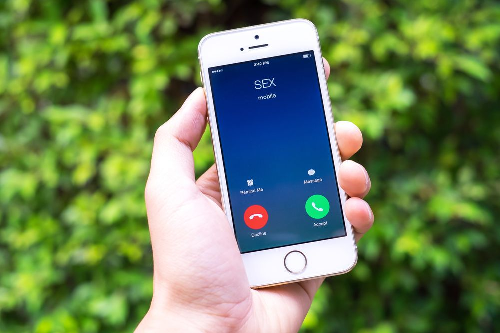 smartphone call from user name sex