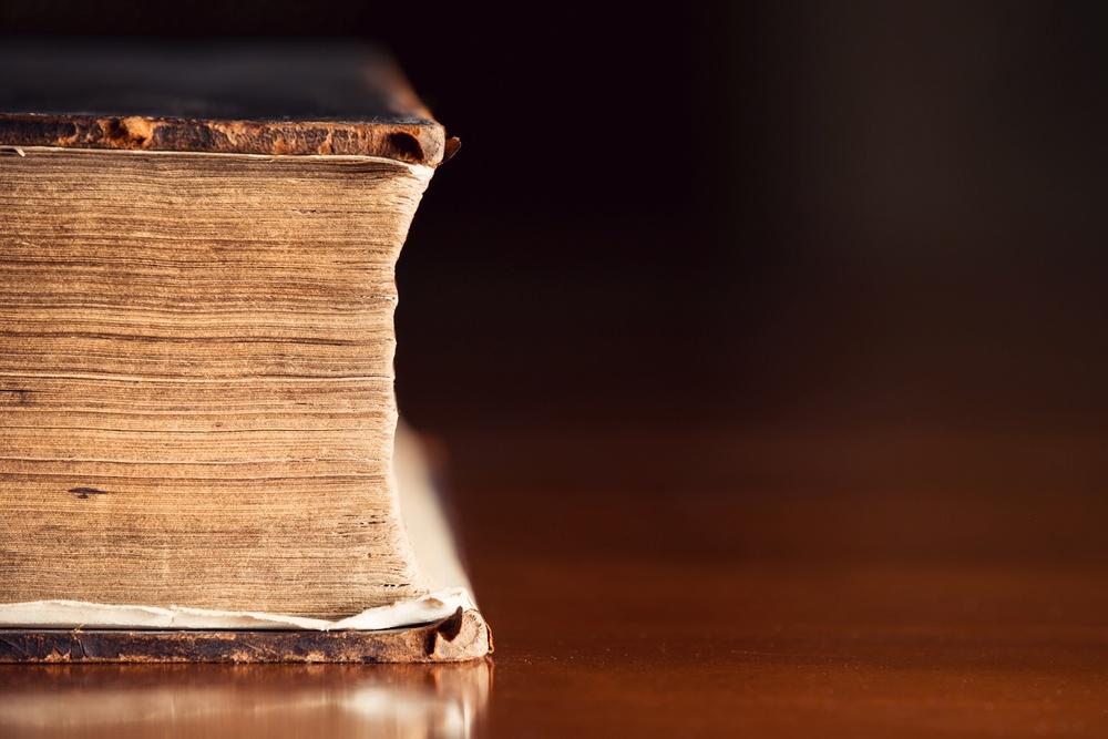 vintage historical bible