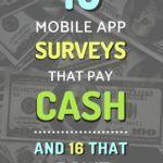 10 Mobile App Surveys That Pay Cash (And 16 That Don't)