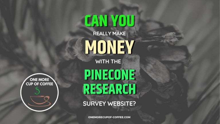 Make Money With The Pinecone Research Survey Featured Image
