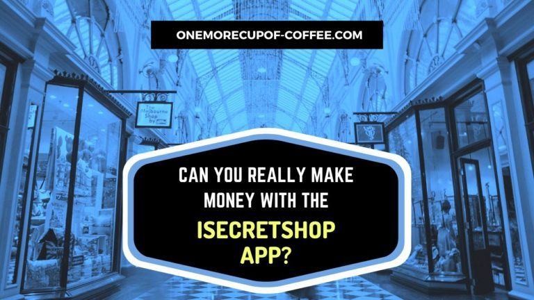 Make Money With The iSecretShop App Featured Image