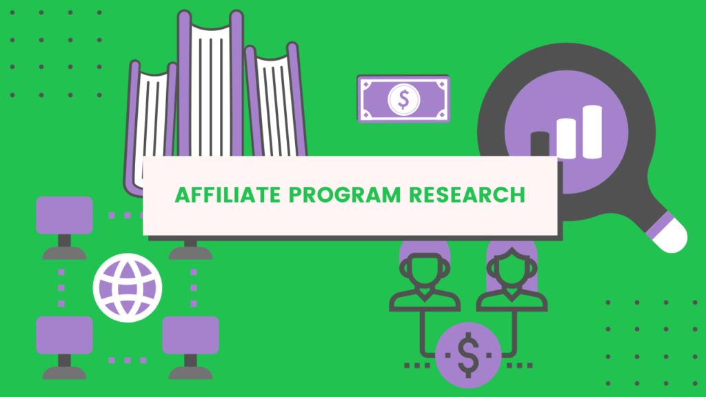 affiliate program research