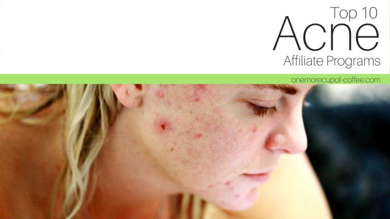best acne affiliate programs featured image