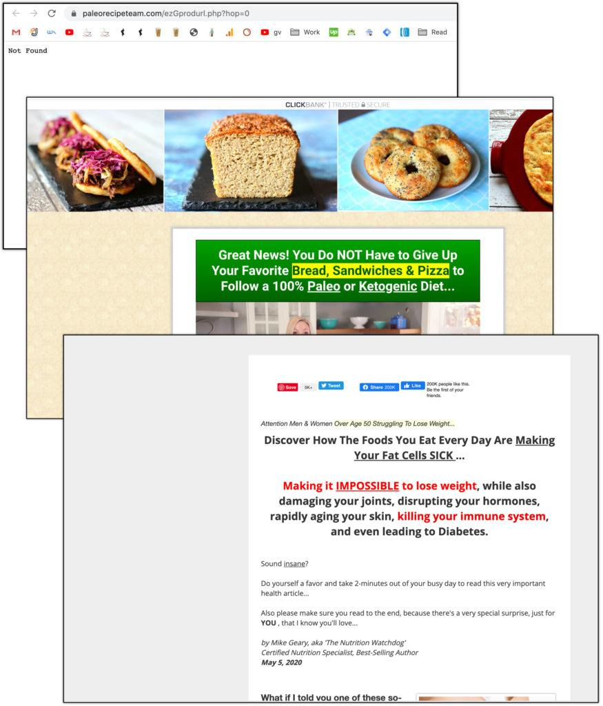 clickbank cooking products