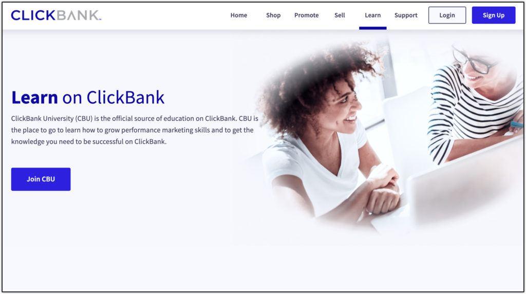 clickbank univeristy screenshot
