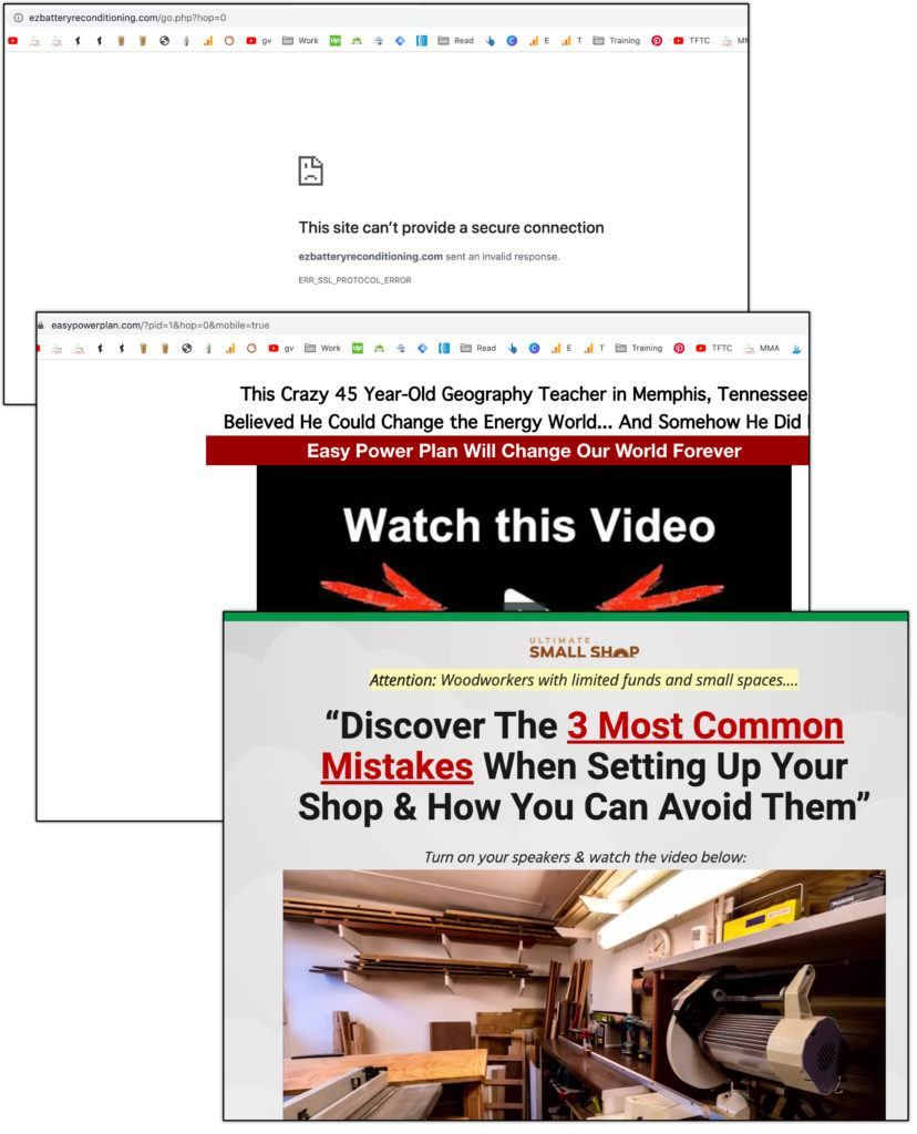 clickbank woodworkign products