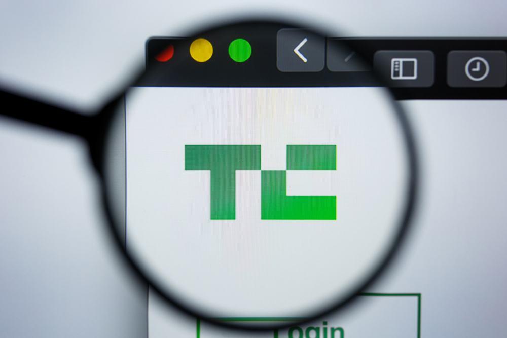 techcrunch blog screenshot