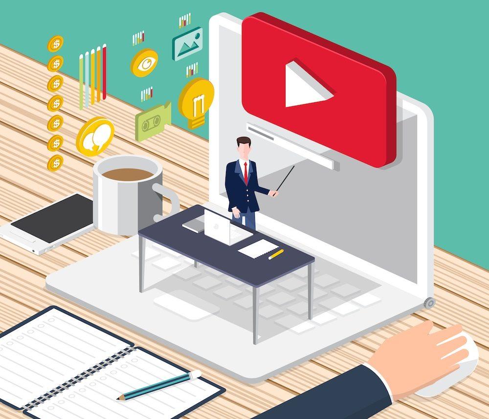 video creator business concept