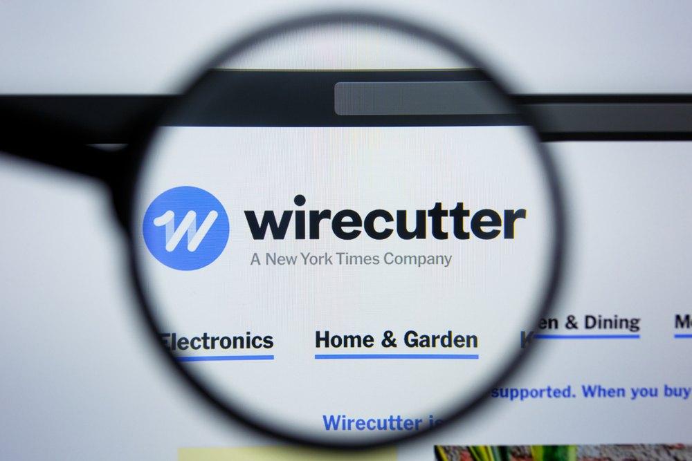 wirecutter blog screenshot