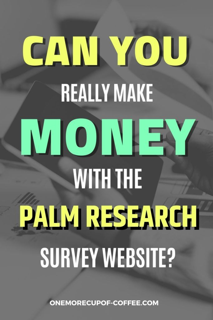 Can You Really Make Money With The Palm Research Survey Website?