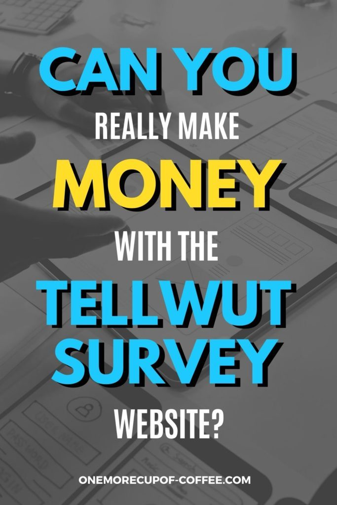 Can You Really Make Money With The Tellwut Survey Website?