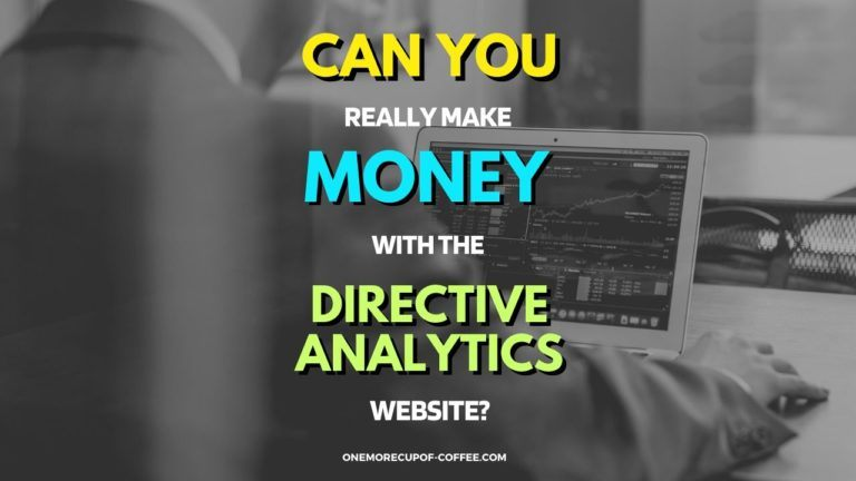 Make Money With The Directive Analytics Website featured Image