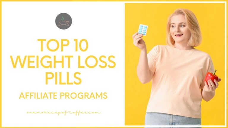 Top 10 Weight Loss Pills Affiliate Programs featured image