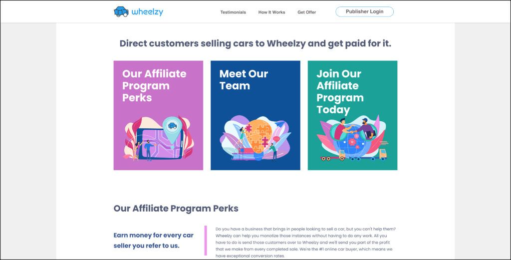 wheelzy affiliate program