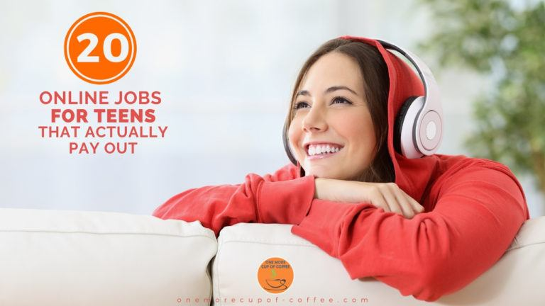 20 Online Jobs For Teens That Actually Pay Out feature image