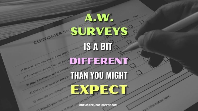 A.W. Surveys Is A Bit Different Than You Might Expect Featured Image