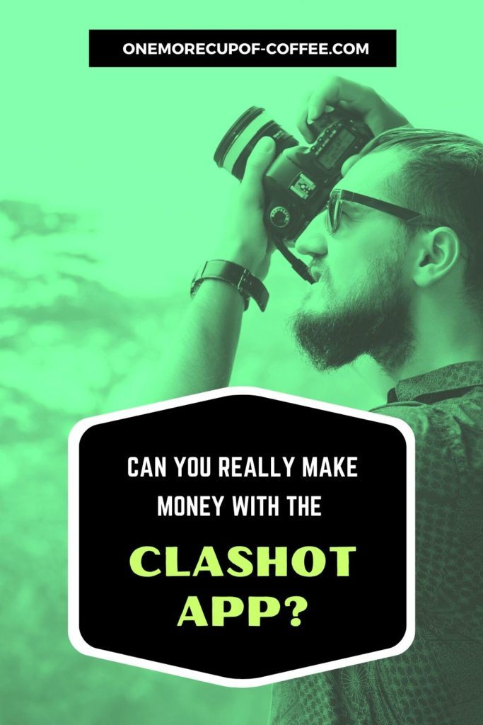green tint background image of man with his dslr camera shooting picture, with overlay text