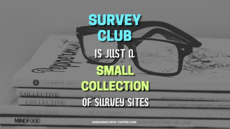 Survey Club Is Just A Small Collection Of Survey Sites Featured Image