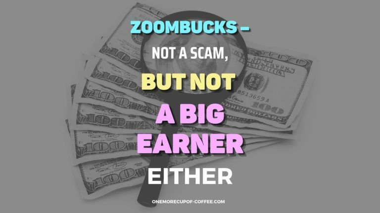 Zoombucks – Not A Scam, But Not A Big Earner Either Featured Image