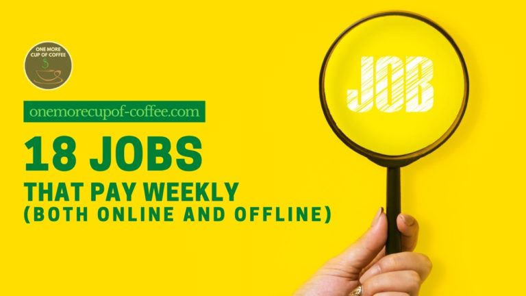 18 Jobs That Pay Weekly (Both Online And Offline) featured image