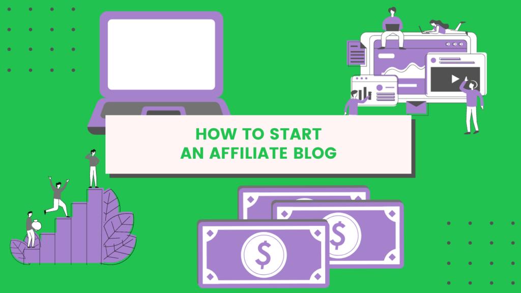 start affiliate blog