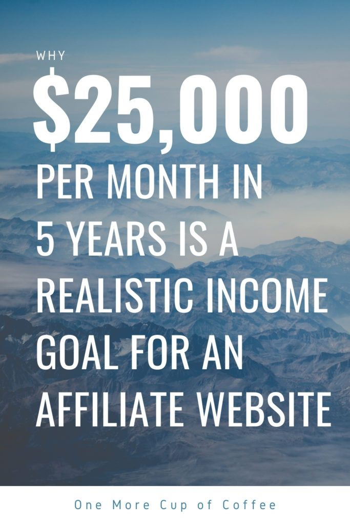 25000 dollars Per Month In 5 Years Is A Realistic Income Goal For An Affiliate Website (1)