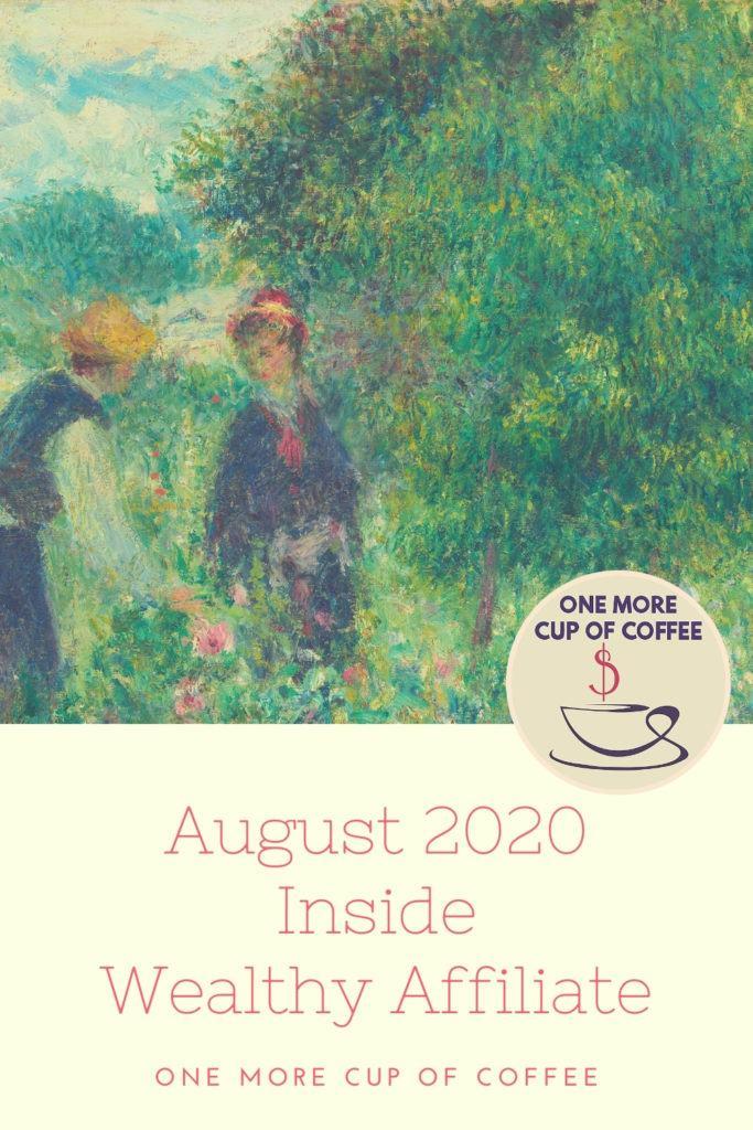August 2020 Inside Wealthy Affiliate