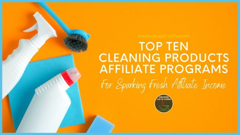 Top Ten Cleaning Products Affiliate Programs For Sparking Fresh Affiliate Income featured image