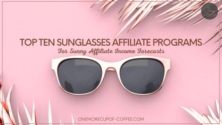 Top Ten Sunglasses Affiliate Programs For Sunny Affiliate Income Forecasts featured image