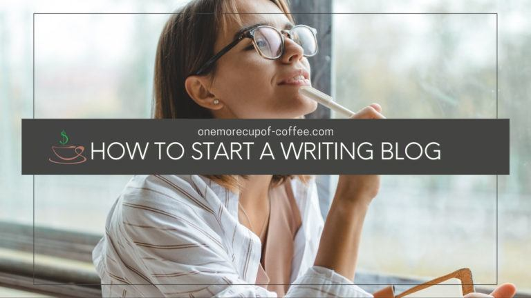 How To Start A Writing Blog featured image