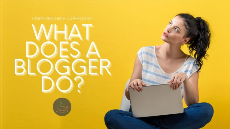 What Does A Blogger Do featured image