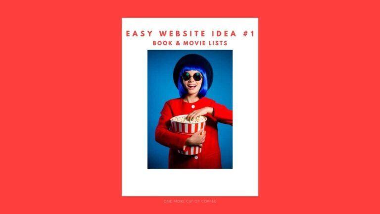 Book & Movie Lists Website Idea featured image