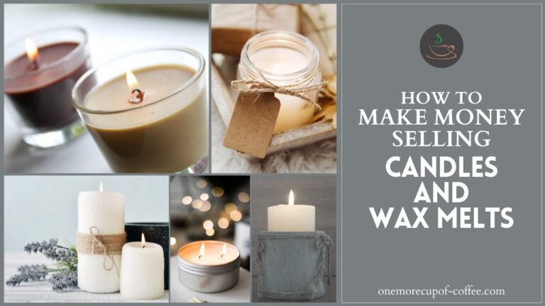 How To Make Money Selling Candles And Wax Melts featured image