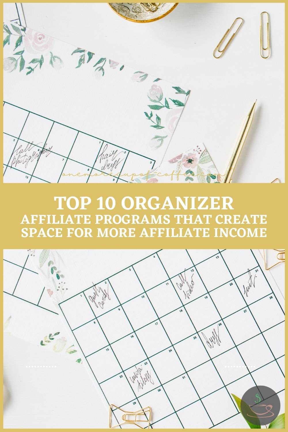 Top 10 Organizer Affiliate Programs That Create Space For More Affiliate Income